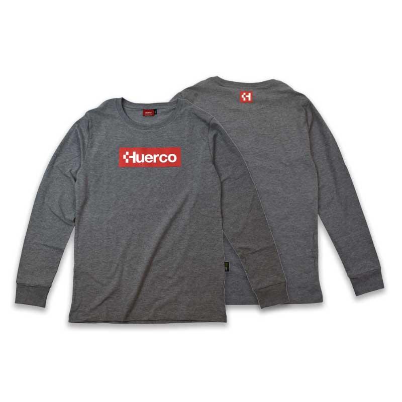 フエルコ(Huerco) CORDURA ロングスリーブTシャツ L ヘザーグレー 111083