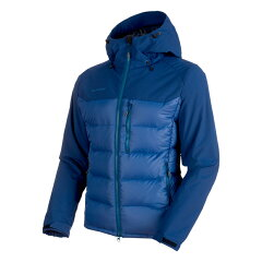 Rime Pro IN Hybrid Hooded Jacket Men's M ultramarine×dark