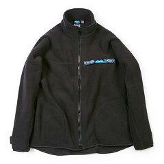 Freece F/Z Throw shirts(メンズ フリース フルジップ スローシャツ) M Black