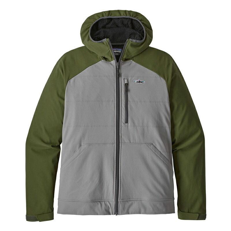 パタゴニア(patagonia) M's Snap-Dry Hoody(メンズ スナップドライ フーディ) S FEA(Feather Grey) 81745