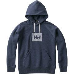 HE31865 HH Logo Sweat Parka(HH ロゴ スウェット パーカー)Men's L ZH(ミックスヘリーブルー)