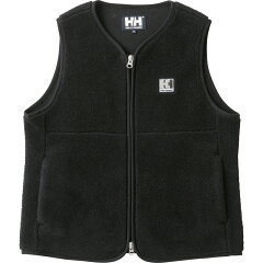 HE51864 FIBERPILE ベスト L K(ブラック)