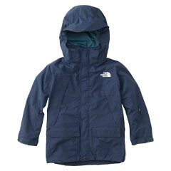 SNOW TRICLIMATE JACKET Kid's 120cm CM(コズミックブルー)