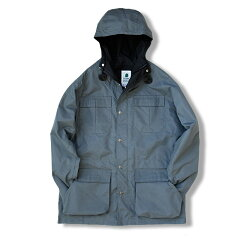 MOUNTAIN PARKA M Gray×Black