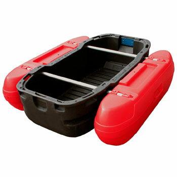 カーメイト(CAR MATE) フロートボート Z1DR ダークグレー/デビルレッド