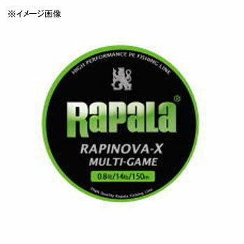 Rapala(ラパラ) ラピノヴァ・エックス マルチゲーム 150m 1号/20.8lb ライムグリーン