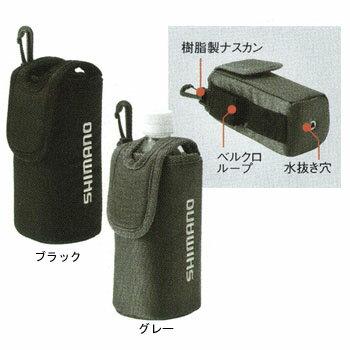 シマノ(SHIMANO) PC-011F ペットボトルホルダー500 グレー