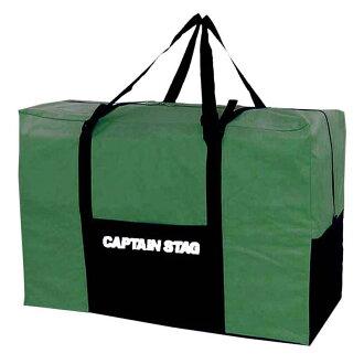 供船长标签(CAPTAIN STAG)forudingubaiku使用的提包绿色Y-5501