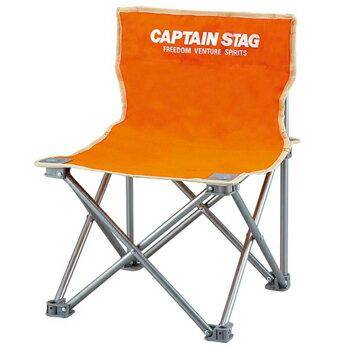 キャプテンスタッグ(CAPTAIN STAG) パレット コンパクトチェアミニ チェアー/椅子/キャンプ/レジャー用 オレンジ M-3918【あす楽対応】