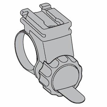 キャットアイ(CAT EYE) 533−8827 H−34 フレックスタイトブラケット (直径22.0−32.0mm)