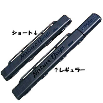 Nature Boys(自然男孩)RECYCLED ROD CASE(再利用鱼竿情况)常规黑色RC-A01