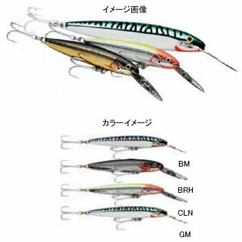 Rapala(ラパラ) カウントダウン Stainless Steel Magnums CD18SSMAG BRH CD18SSMAG-BRH
