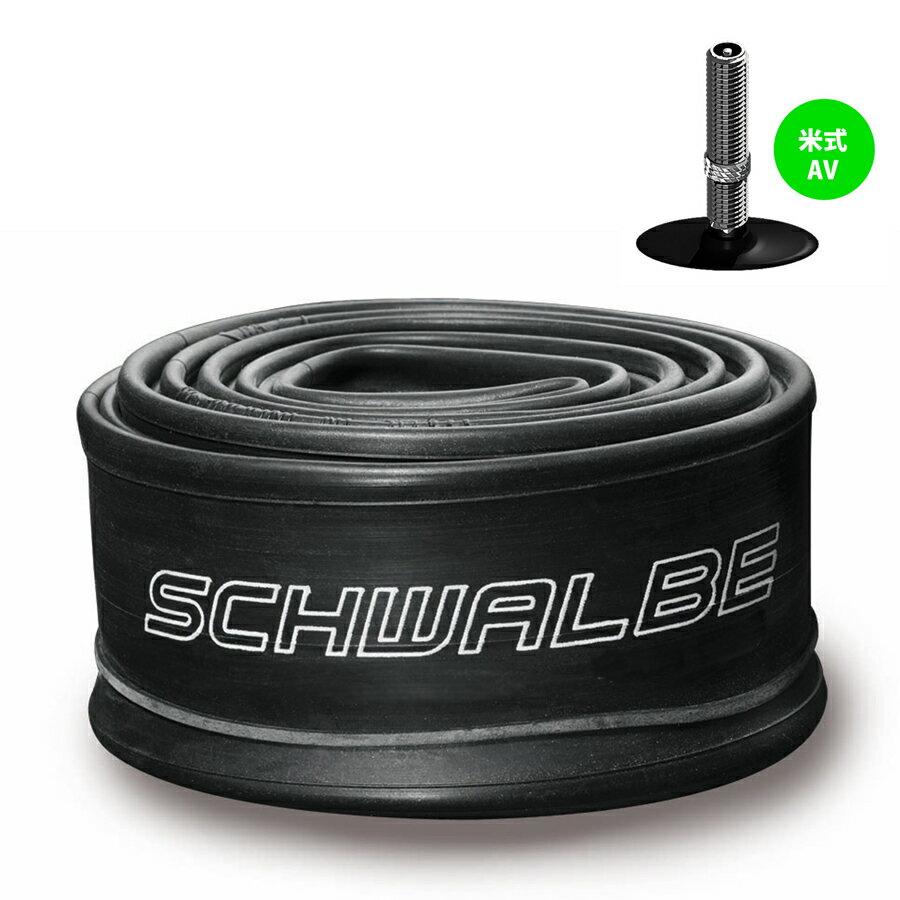 SCHWALBE(シュワルベ) 【正規品】チューブ 28インチ(700C) 米式バルブ 700×28−45C 17AV【あす楽対応】
