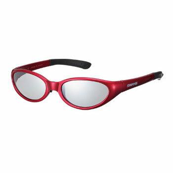 スワンズ(SWANS) Kids Glasses KG1-0702 TI×R(492) シルバーミラー×ライトスモーク KG10702