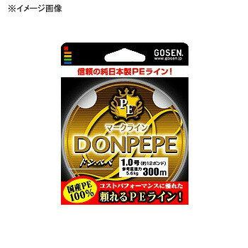 ゴーセン(GOSEN) PEマークライン ドンペペ 300m 0.6号 5色分け GB03006【あす楽対応】