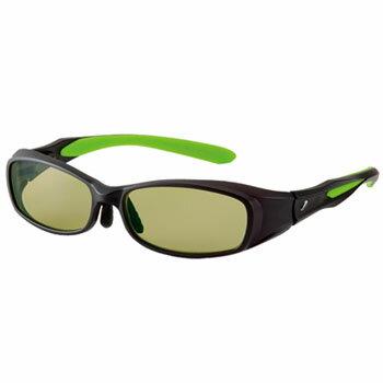 zeal optics(ジールオプティクス) CAVARO(カヴァロ) ブラック×グリーン イーズグリーン F-1202