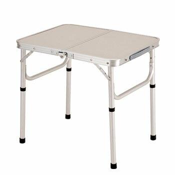BUNDOK(バンドック) アルミFDテーブル SS/C 62×47cm  レジャー/キャンプテーブル 62×47cm BD-147