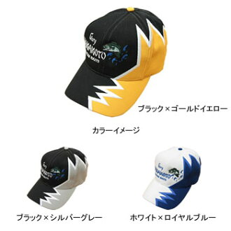 無加裏Yamamoto(Gary YAMAMOTO)Lightning CAP(閃電蓋子)白×皇家藍色