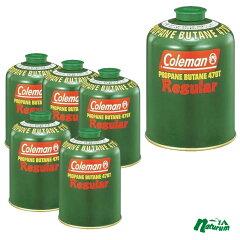 【送料無料】Coleman(コールマン)【お買い得】純正LPガス燃料[Tタイプ]470g6個セット【SMTB】