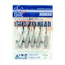 エクストリーム SIN−ZO HEAD(シンゾーヘッド) 3.5g ファインフック アンペイント