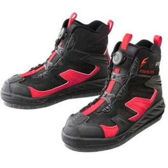 SHIMANO (SHIMANO) FS-163L Gore-Tex cut rubber pin felt shoes, FIRE BLOOD 280 Brad red FS-163L Brad red 28