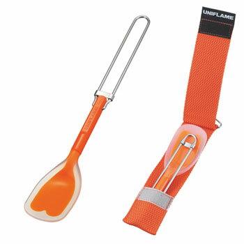 ユニフレーム(UNIFLAME) FDシリコンスプーン ロング オレンジ 667965