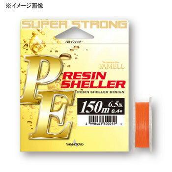 ヤマトヨテグス(YAMATOYO) PEレジンシェラー 150m 0.8号/11lb オレンジ