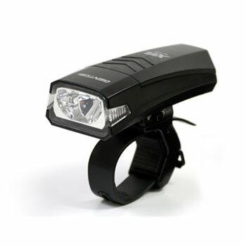 GENTOS(ジェントス) XB−350B バイクライト ブラック【あす楽対応】