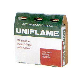 ユニフレーム(UNIFLAME) ガスカートリッジ(3本) 650028【あす楽対応】