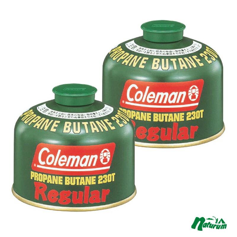 Coleman(コールマン) 純正LPガス燃料[Tタイプ]230g【お得な2点セット】 5103A230T【あす楽対応】