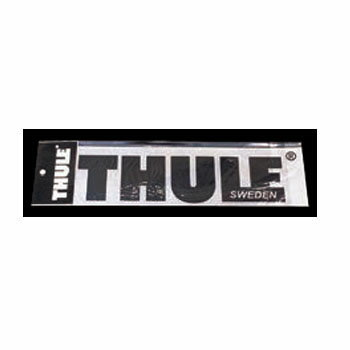 THULE(スーリー) ステッカークロ 29cm ブラック THP-STICKER
