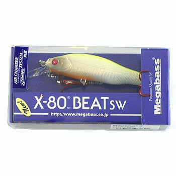 メガバス(Megabass) X-80 BEAT SW PM HOT-SHAD