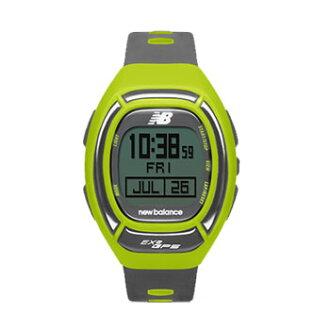 new balance(新平衡)EX2-906-002 RUN表跑步表GPS功能搭載for windows酸橙×灰色