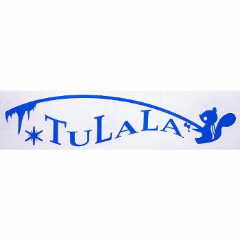 TULALA(ツララ) カッティングステッカー 60×235mm クラシックブルー