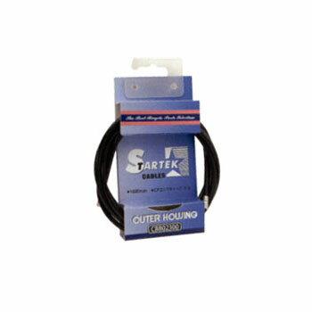 GIZA PRODUCTS(ギザプロダクツ) STARTEK ブレーキ アウター ケーブル 1.8m ブラック CBB02300