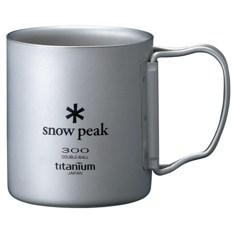 【送料無料】スノーピーク(snow peak) チタンダブルマグ 300 フォールディングハンドル 300ml MG-052FHR【あす楽対応】【SMTB】