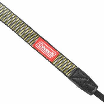 エツミ コールマン ネックストラップ20 イエロー×グレー CO-8504