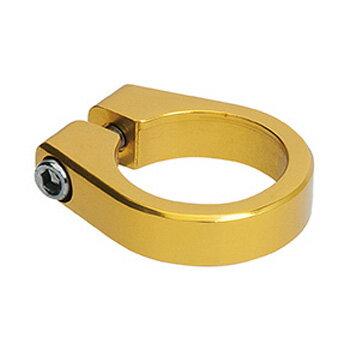 GIZA PRODUCTS(ギザプロダクツ) CL−02A アルミ シートクランプ 31.8mm GLD(ゴールド) SPC02202