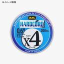 デュエル(DUEL) HARDCORE X4(ハードコア エックスフォー) 200m 0.4号 10m×5色 H3278