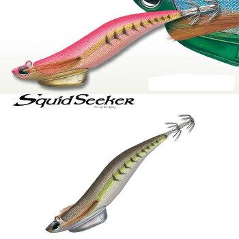 バレーヒル(ValleyHill) Squid Seeker(スクイッドシーカー) ライトチューン 3.5号 #06L オリーブアジ/銀