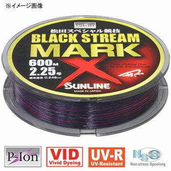 サンライン(SUNLINE) 松田スペシャル競技 ブラックストリーム マークX 200m 3.5号 ブラッキーカラー×ファインピンク