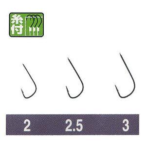オーナー針 金 モロコ(糸付) 2.5号-0.4 20680