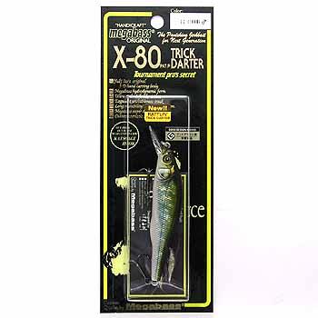 メガバス(Megabass) X-80 TRICK DARTER(X-80 トリックダーター) GG OIKAWA(オス)