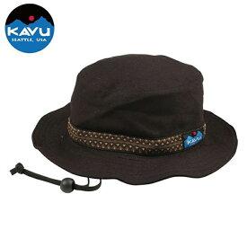 KAVU(カブー) Strap Bucket Hat(ストラップ バケット ハット) L Black 11863452001008