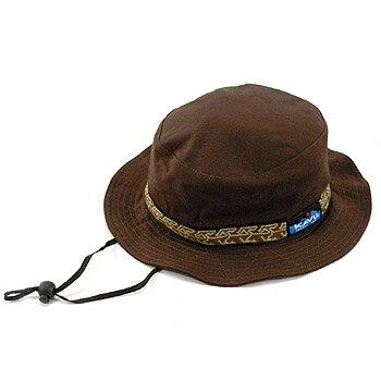 KAVU(カブー) Strap Bucket Hat(ストラップ バケット ハット) L/XL チョコレート 11863452