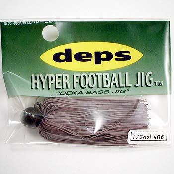 デプス(Deps) HYPER FOOTBALL JIG(ハイパーフットボールジグ) 1/2oz #06 ブラウン