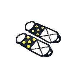 キャプテンスタッグ(CAPTAIN STAG) 滑らんぞー 簡易スパイク 凍結/雪道/滑り防止対策 22-25cm スリムM M-6150