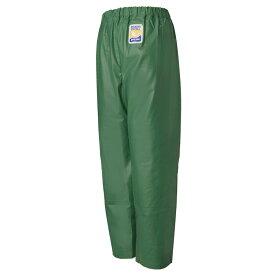 ロゴス(LOGOS) マリンエクセル 並ズボン(膝当付き) LL グリーン 12050361