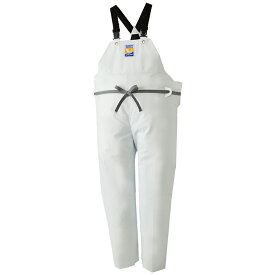 ロゴス(LOGOS) マリンエクセル 胸当付きズボン(膝当付き) 3L ホワイト 12063610