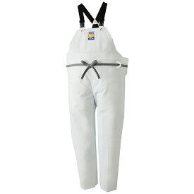 ロゴス(LOGOS) マリンエクセル 胸当付きズボン(膝当付き) L ホワイト 12063612